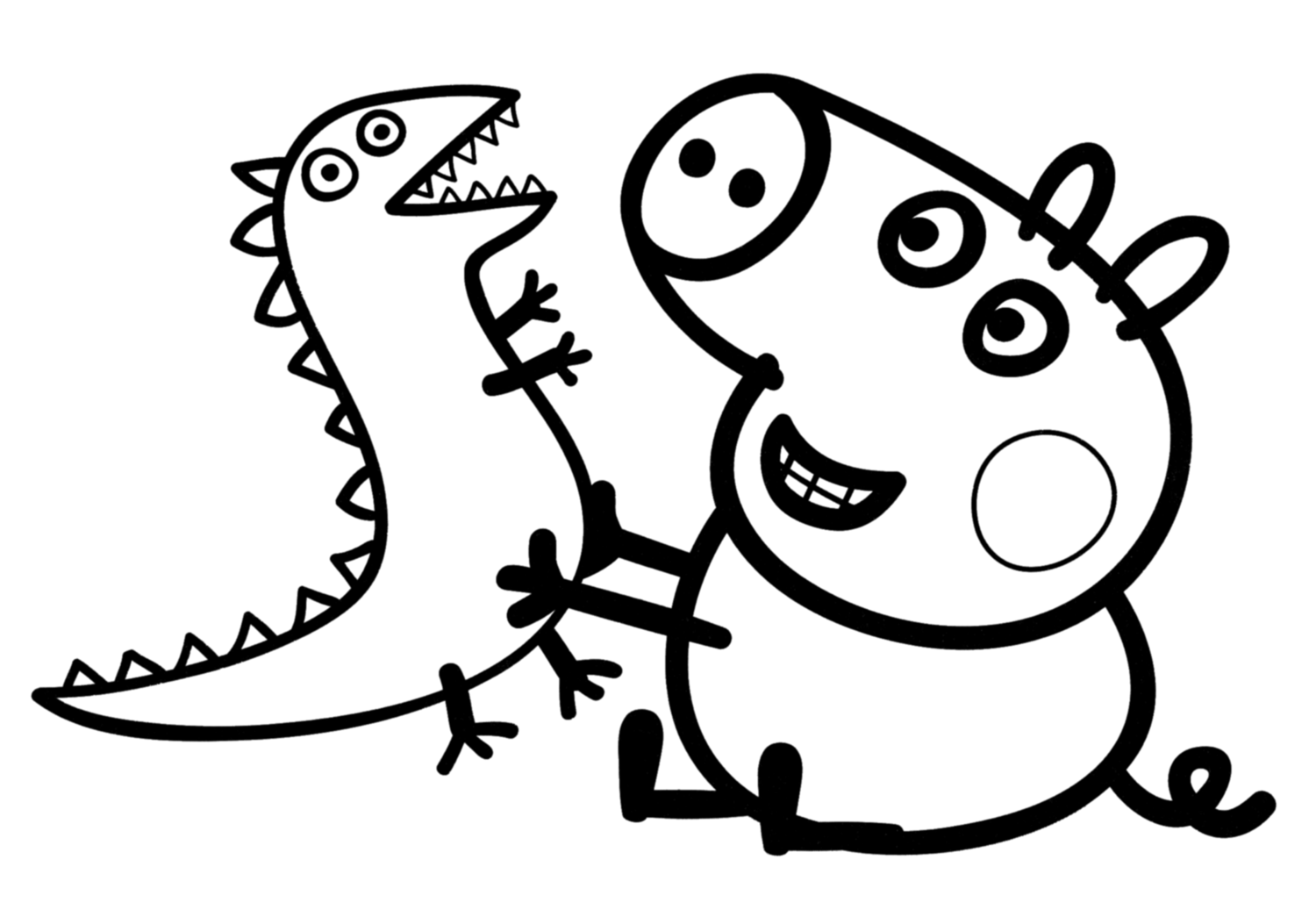 george pig colouring peppa pig coloring pages printable peppa pig george colouring george pig