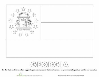 georgia state seal coloring page 25 best images about georgia history fair on pinterest coloring page state georgia seal