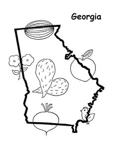 georgia state seal coloring page connecticut state flower coloring page mountain laurel page coloring state seal georgia