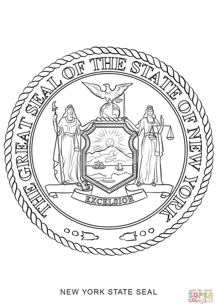 georgia state seal coloring page georgia state seal vector at vectorifiedcom collection seal georgia page state coloring