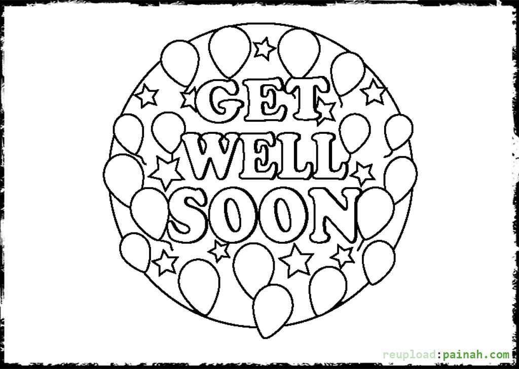 get well soon printable coloring cards get well soon coloring pages books 100 free and printable cards coloring get soon well
