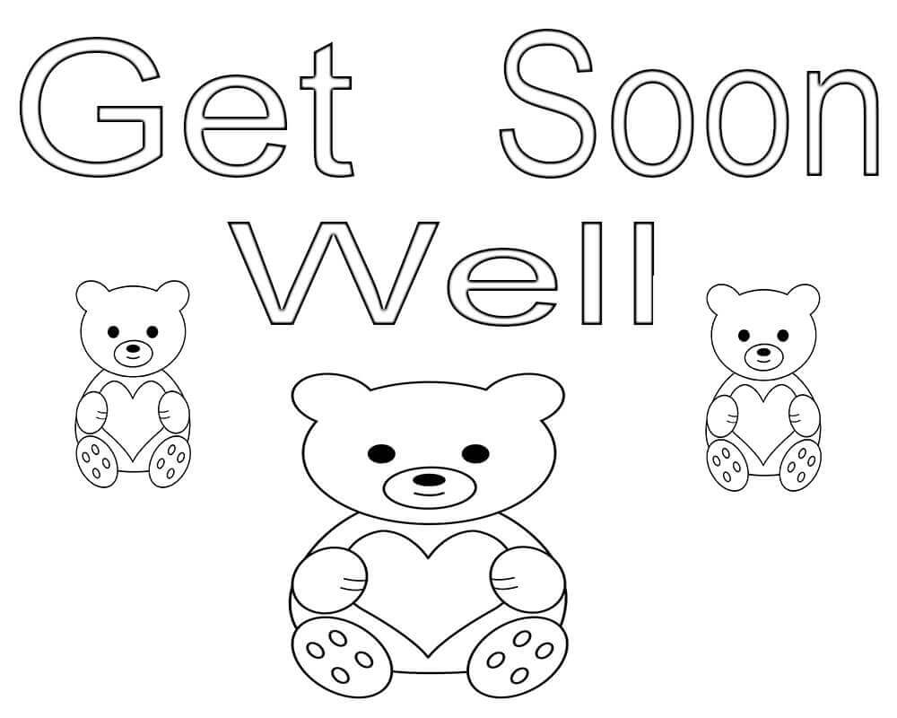 get well soon printable coloring cards get well soon coloring pages soon printable cards well coloring get
