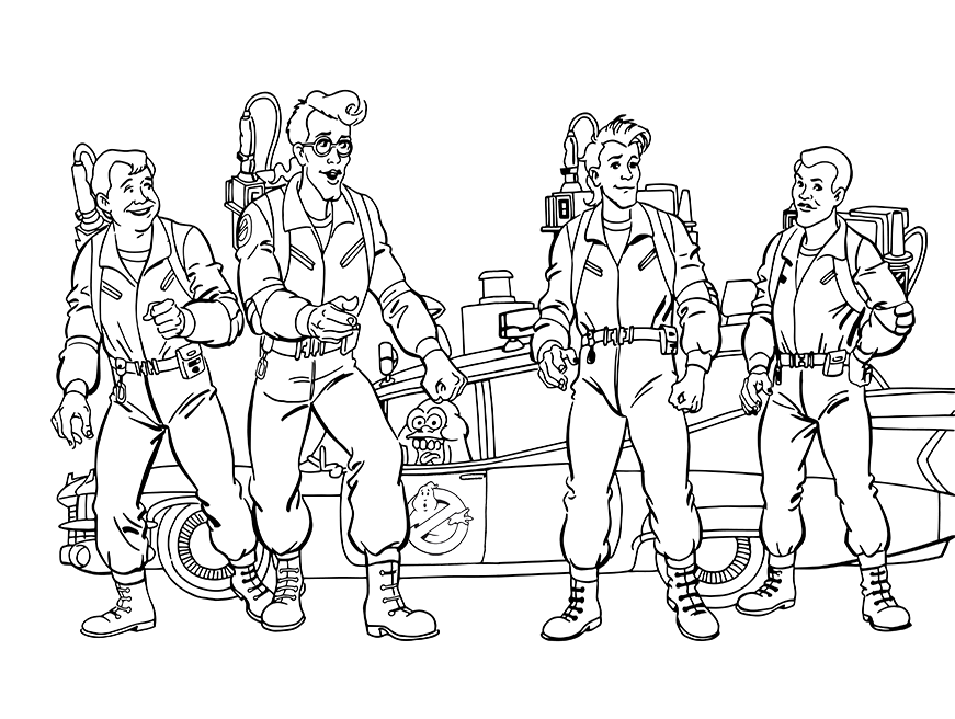 ghostbusters 2 coloring pages the real ghostbusters coloring book 2 download ghostbusters pages coloring 2