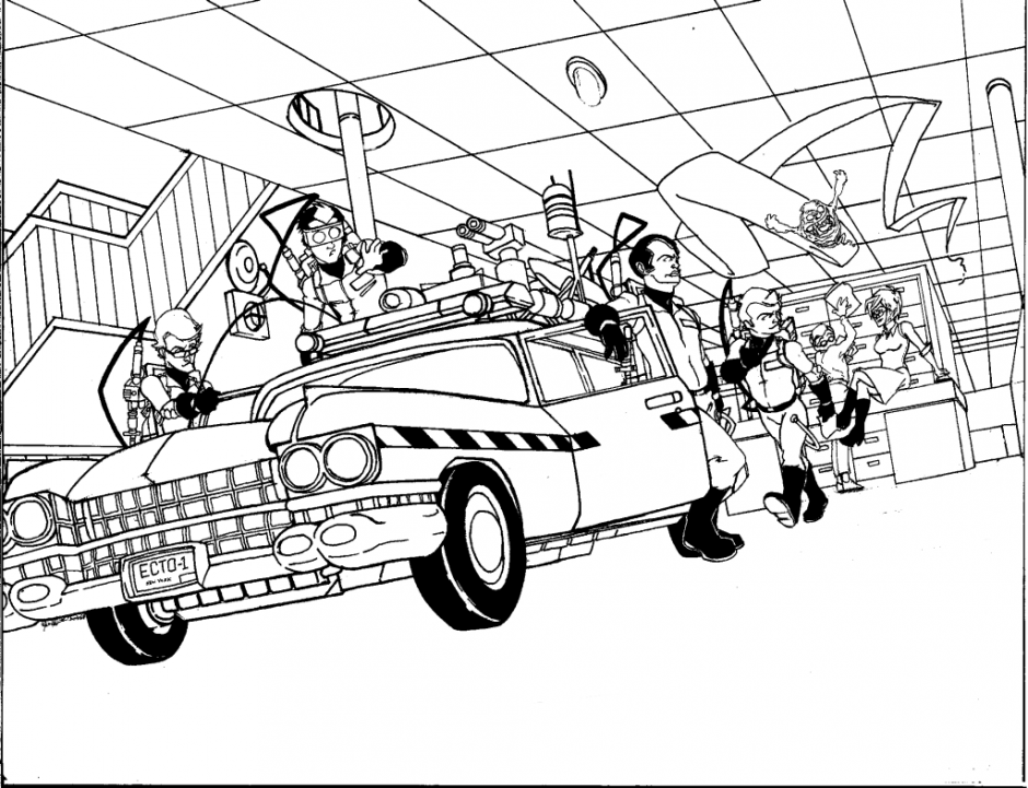 ghostbusters car coloring pages ghostbusters car coloring pages coloring pages coloring ghostbusters pages car