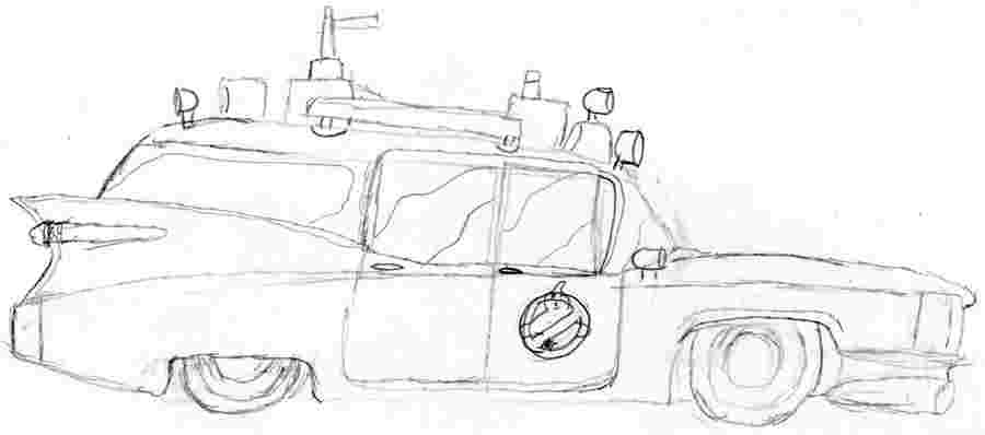ghostbusters car coloring pages ghostbusters coloring pages page 33 of 36 the sun ghostbusters coloring car pages