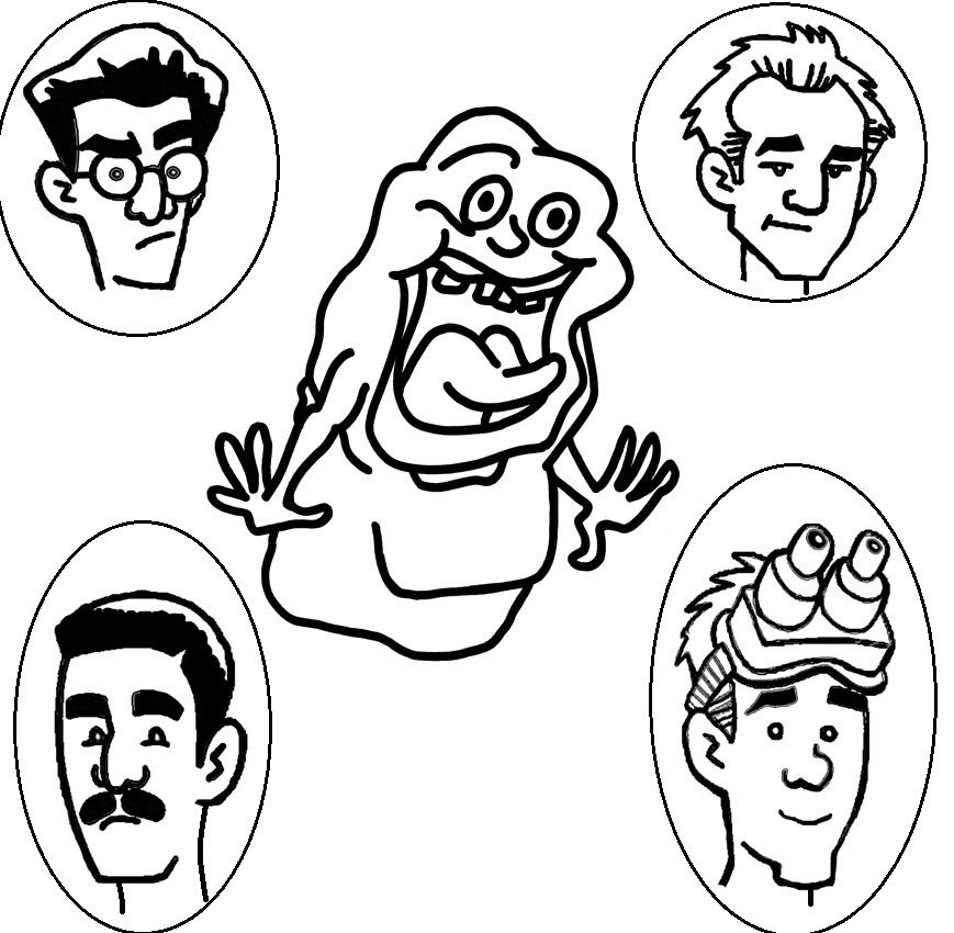 ghostbusters coloring ghostbusters coloring pages to download and print for free coloring ghostbusters 1 1