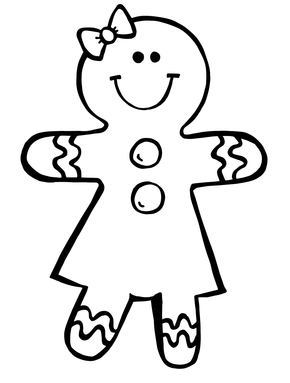 gingerbread girl printable rig6xdkiljpeg 9631600 pixels people coloring pages gingerbread printable girl