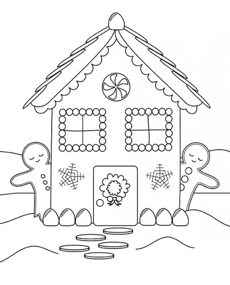 gingerbread house coloring page gingerbread house coloring pages to download and print for coloring gingerbread house page