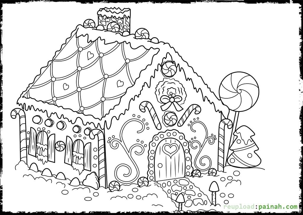 gingerbread house coloring page printable gingerbread house coloring pages for kids coloring page house gingerbread