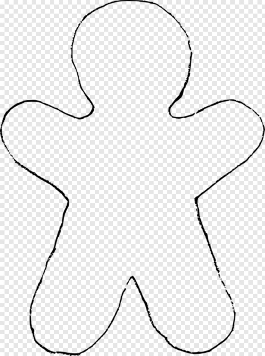 gingerbread outline gingerbread man template free stock photo public domain outline gingerbread