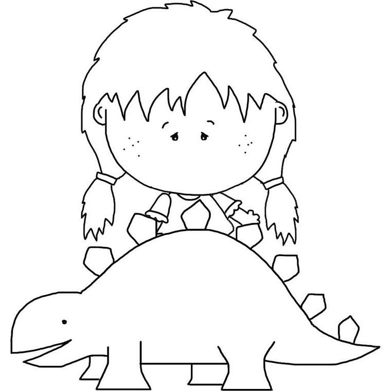 girl dinosaur coloring pages free coloring pages printable pictures to color kids girl coloring dinosaur pages