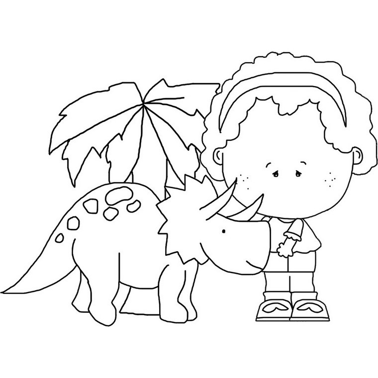 girl dinosaur coloring pages girl dinosaur coloring pages at getdrawings free download girl coloring dinosaur pages
