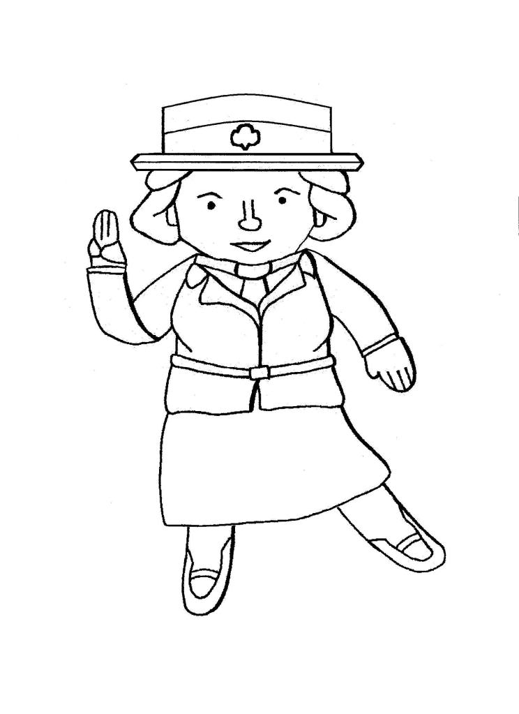 girl scout coloring pages printable 39 best daisy coloring pages images on pinterest girl printable scout pages coloring girl