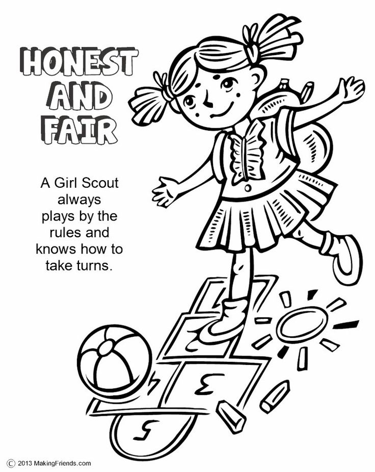 girl scout coloring pages printable free printable girl scout coloring pages for kids coloring pages girl printable scout