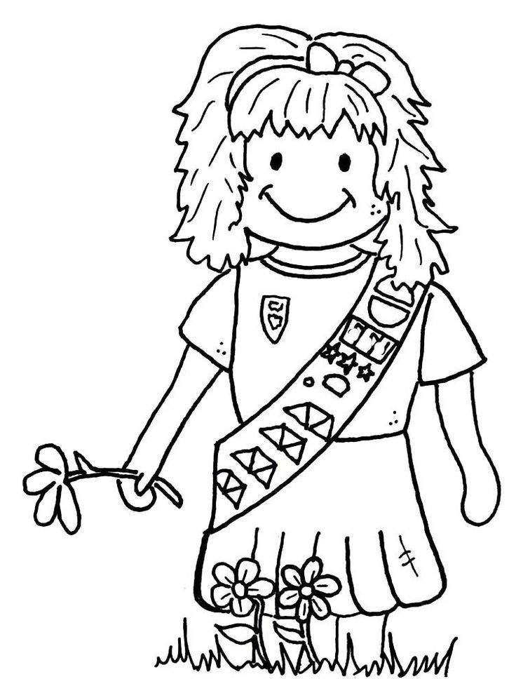 girl scout coloring pages printable free printable girl scout coloring pages for kids coloring pages girl scout printable