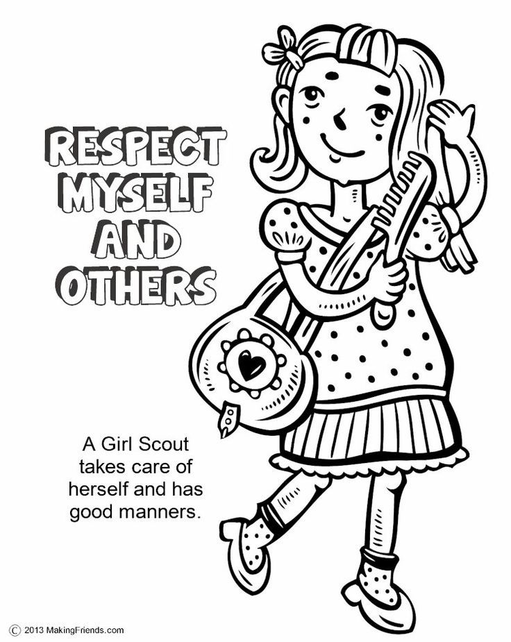 girl scout coloring pages printable girl scouts coloring page free printable coloring pages pages girl printable scout coloring