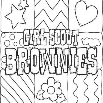 girl scout cookie coloring pages 25 best girl scout cookies coloring pages home coloring scout pages girl cookie