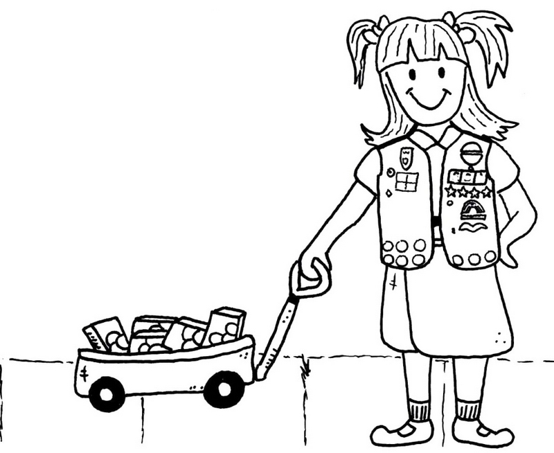 girl scout cookie coloring pages cookie coloring pages free download on clipartmag cookie coloring pages girl scout
