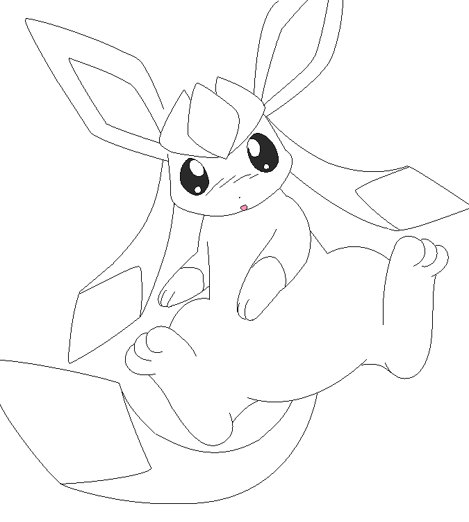 glaceon coloring pages glaceon coloring page by bellatrixie white on deviantart glaceon pages coloring