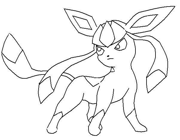 glaceon coloring pages glaceon lineart by makayla2057 on deviantart coloring pages glaceon