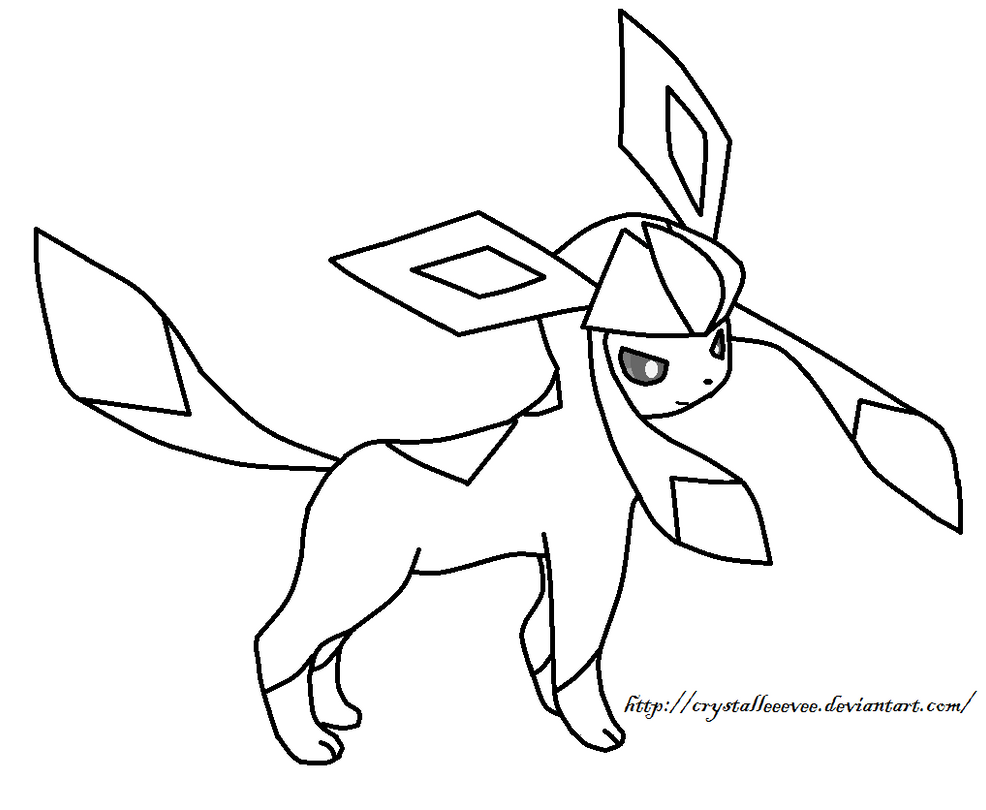 glaceon coloring pages pokemon coloring pages glaceon pokemon coloring pages coloring pages glaceon