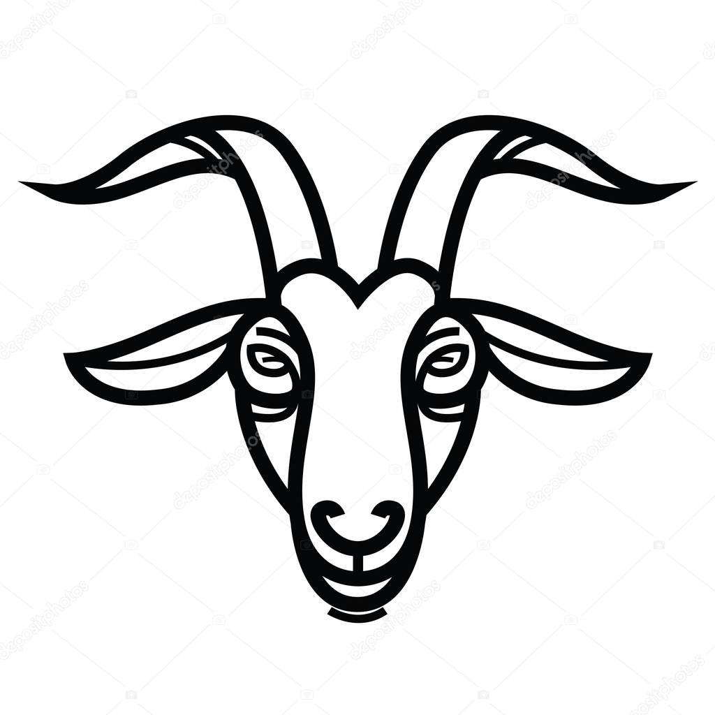 goat head drawing mountain goat clipart 20 free cliparts download images drawing goat head