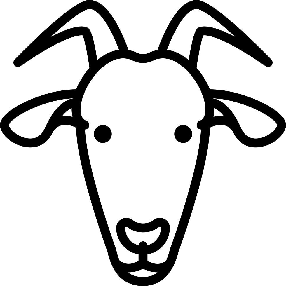 goat head drawing mountain goat head drawing free download on clipartmag head drawing goat