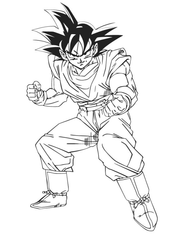 goku pictures to print goku coloring pages free printable goku coloring pages to print goku pictures