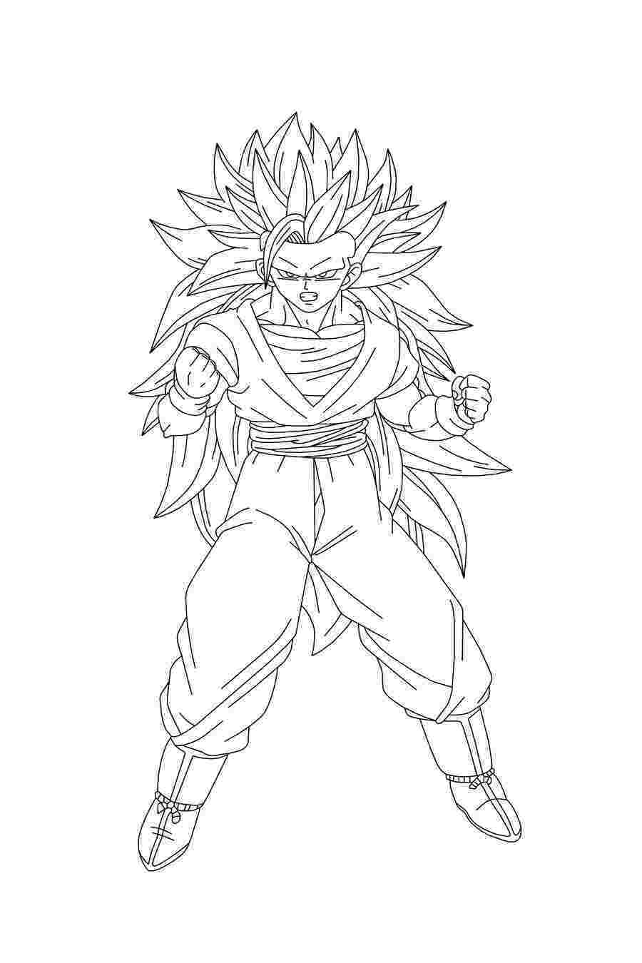 goku pictures to print printable goku coloring pages for kids cool2bkids to goku pictures print