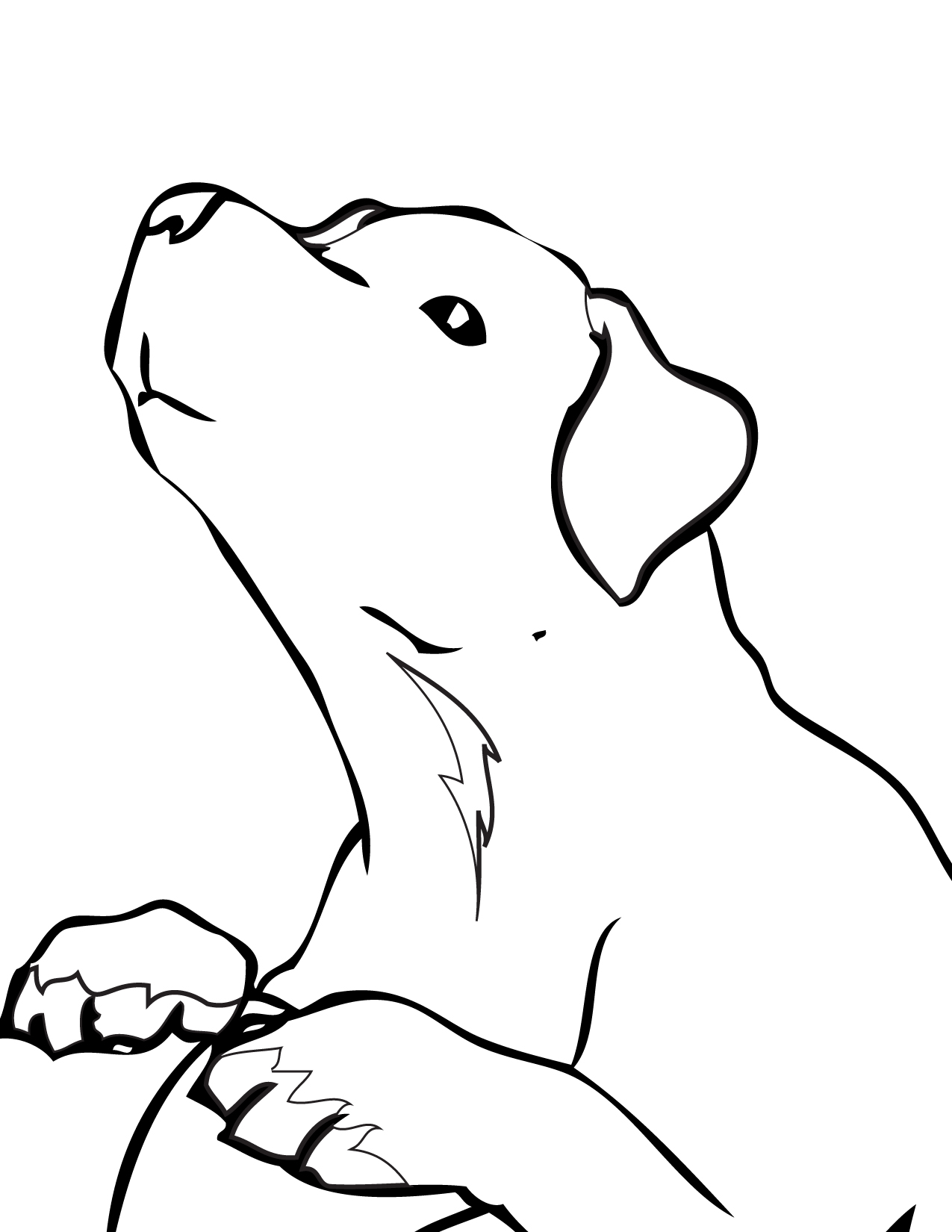 golden retriever coloring page golden retriever puppy coloring page free printable retriever golden coloring page
