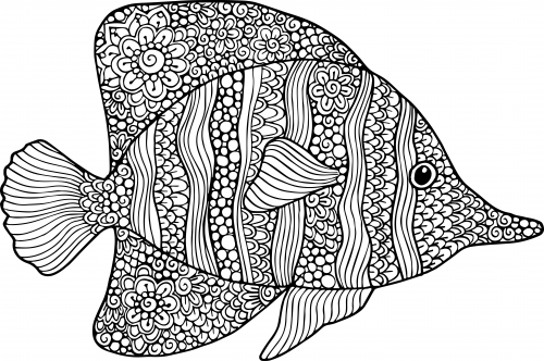 goldfish coloring fish coloring pages for kids preschool and kindergarten goldfish coloring