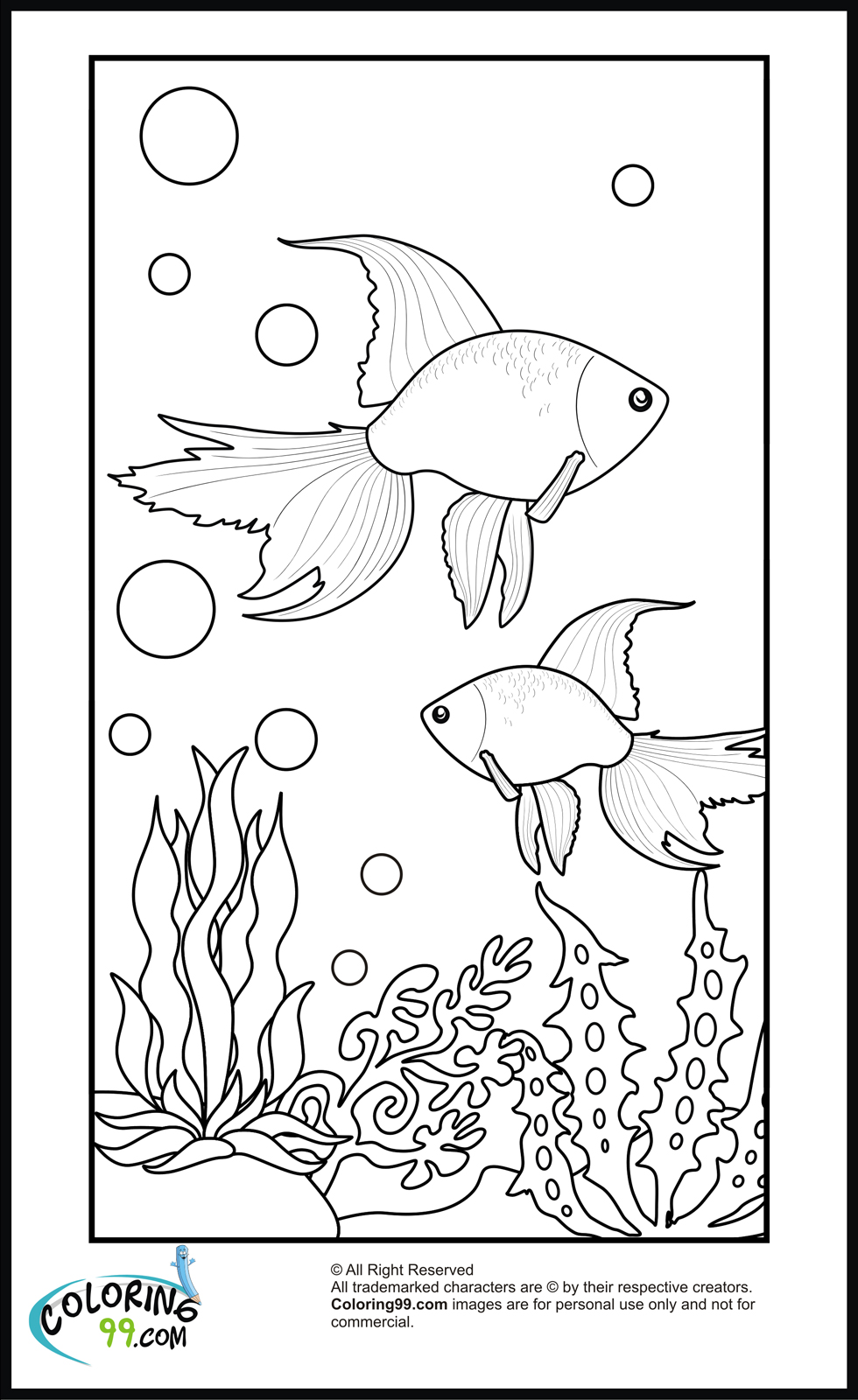 goldfish coloring goldfish coloring pages download and print goldfish goldfish coloring 1 2