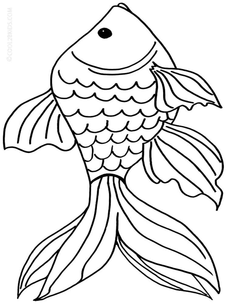 goldfish coloring goldfish coloring pages team colors coloring goldfish 1 2