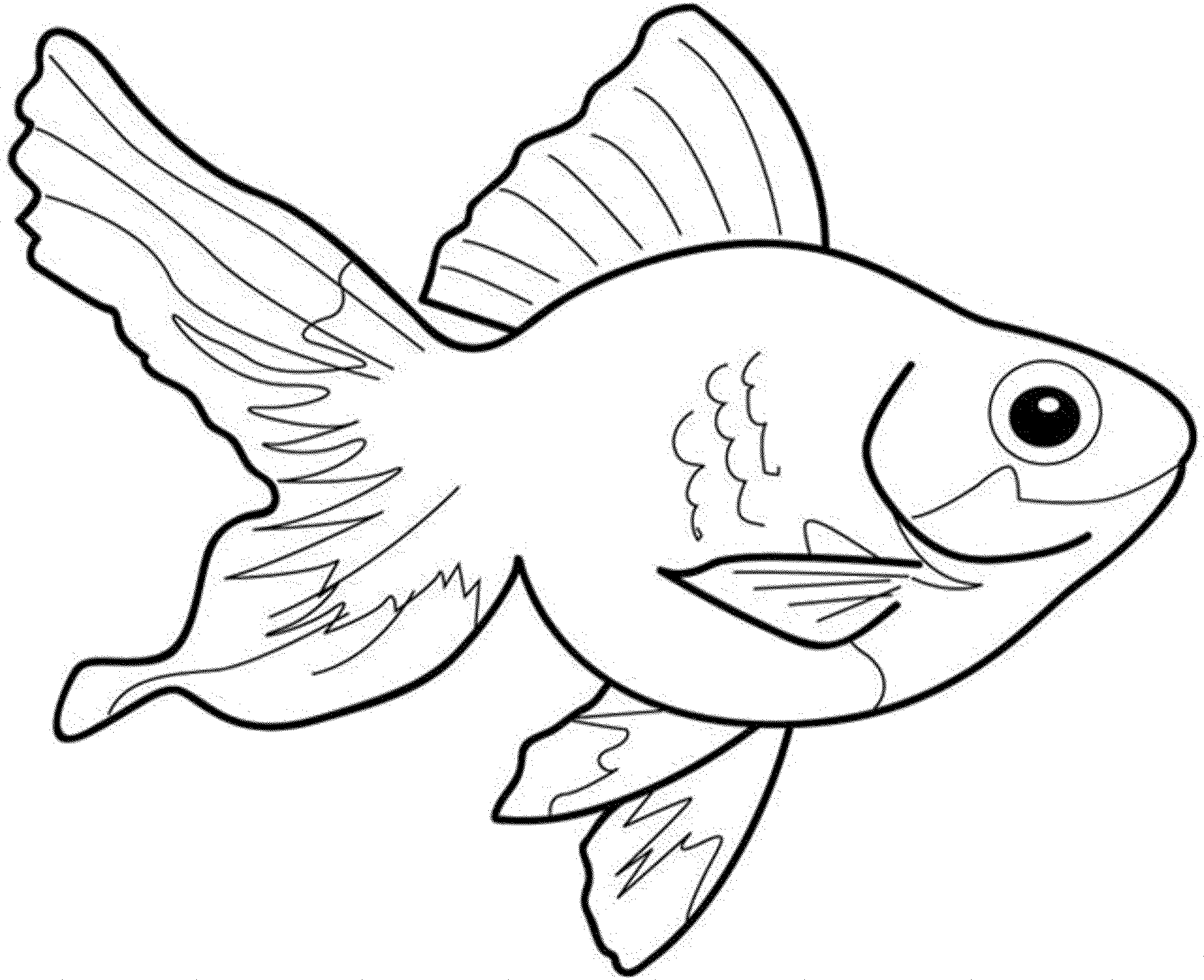 goldfish coloring printable goldfish coloring pages for kids cool2bkids goldfish coloring