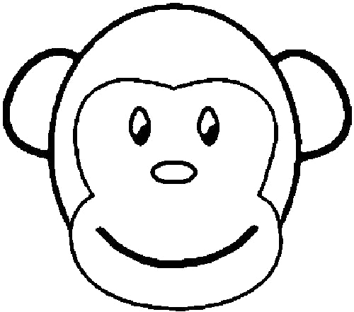gorilla face coloring pages clipart panda free clipart images pages gorilla coloring face