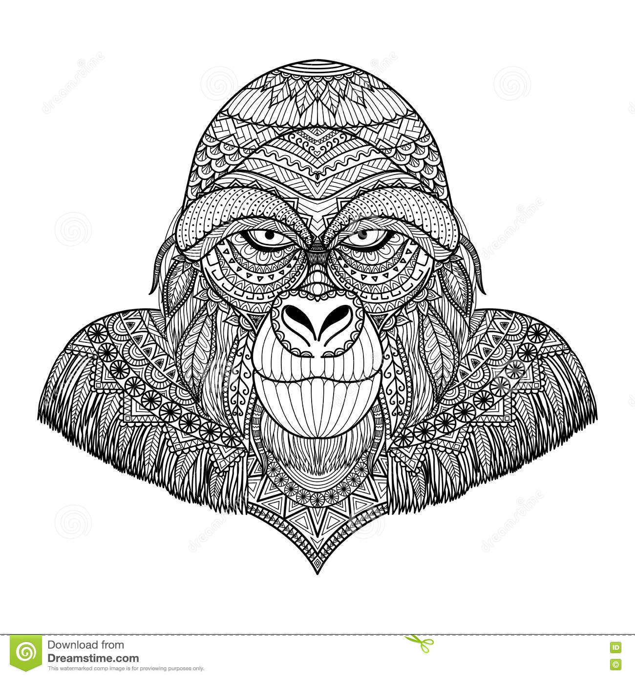 gorilla face coloring pages gorilla crayolacomau face coloring pages gorilla