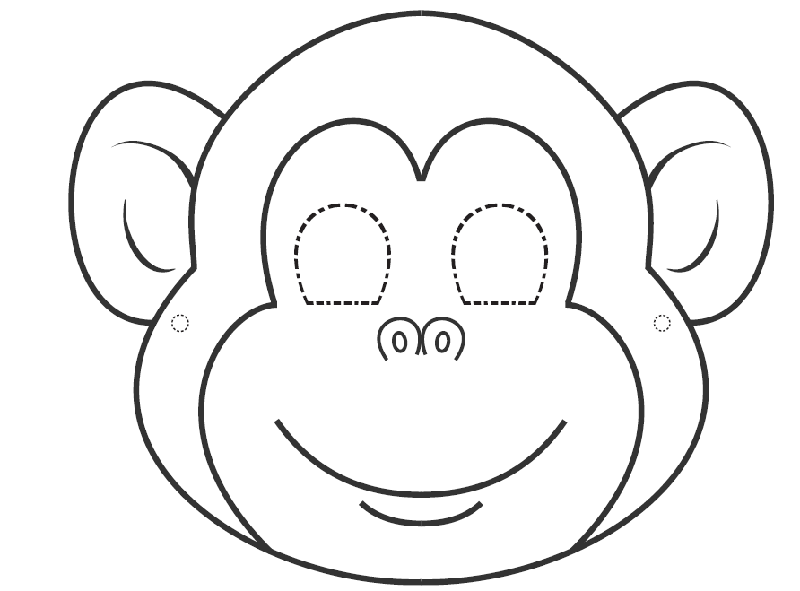 gorilla face coloring pages i want to learn english colouring masks for carnival time pages coloring face gorilla