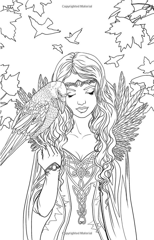gothic fairies coloring book halloween gothic coloring page to color with color therapy book coloring gothic fairies