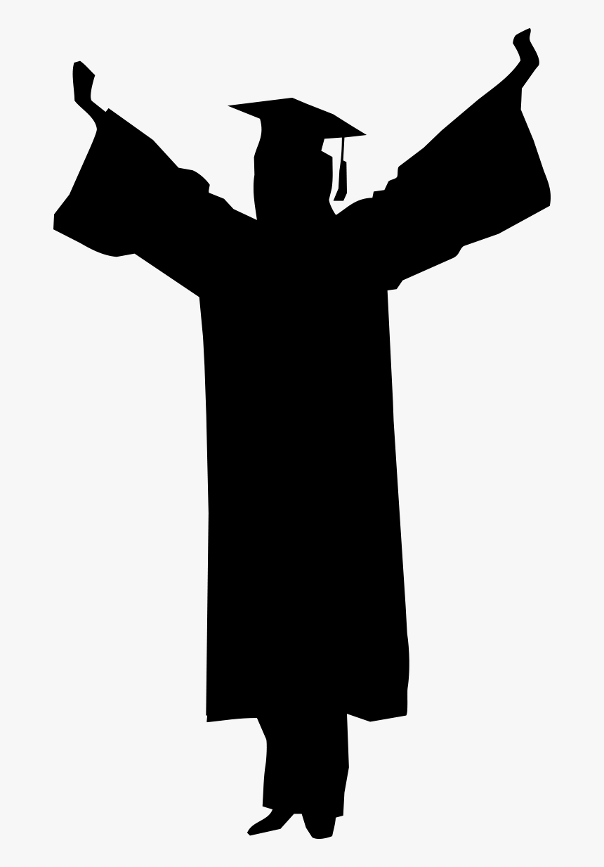 graduate silhouette happy graduate silhouette jumping in the air vector download graduate silhouette