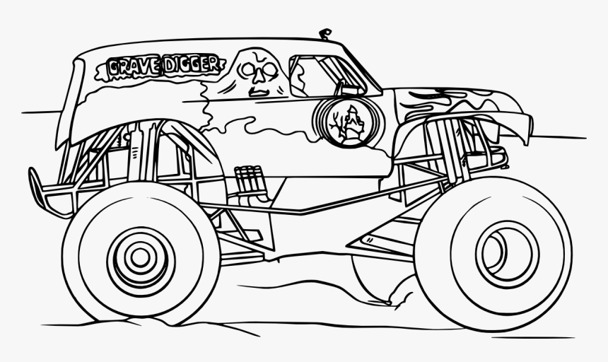 grave digger coloring page best photo of grave digger coloring pages birijuscom grave page coloring digger