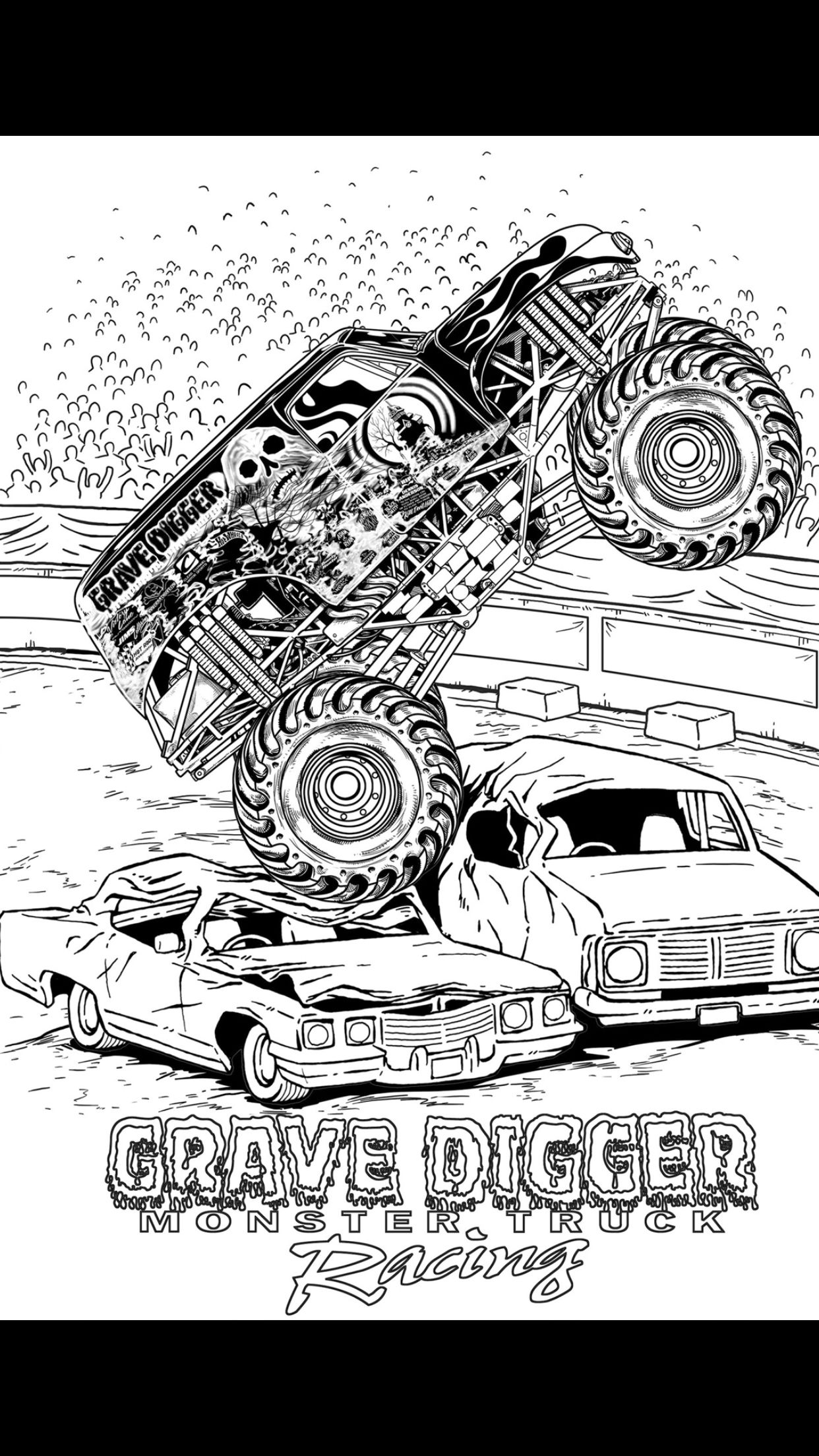 grave digger coloring page free printable grave digger coloring pages 7 printable coloring grave digger page