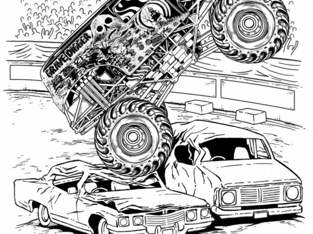 grave digger coloring page grave digger car toons monster truck coloring pages grave page digger coloring
