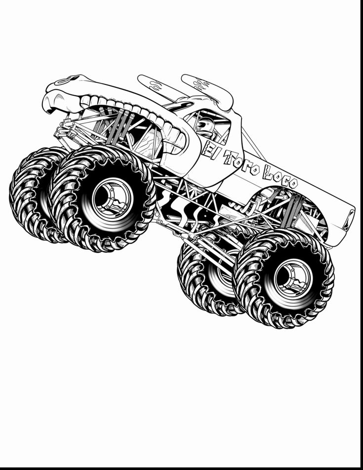 grave digger coloring page grave digger coloring page awesome grave digger drawing at digger coloring page grave