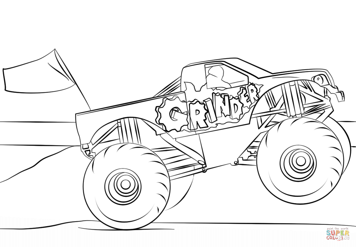 grave digger coloring page grave digger coloring pages grave digger color page digger grave page coloring