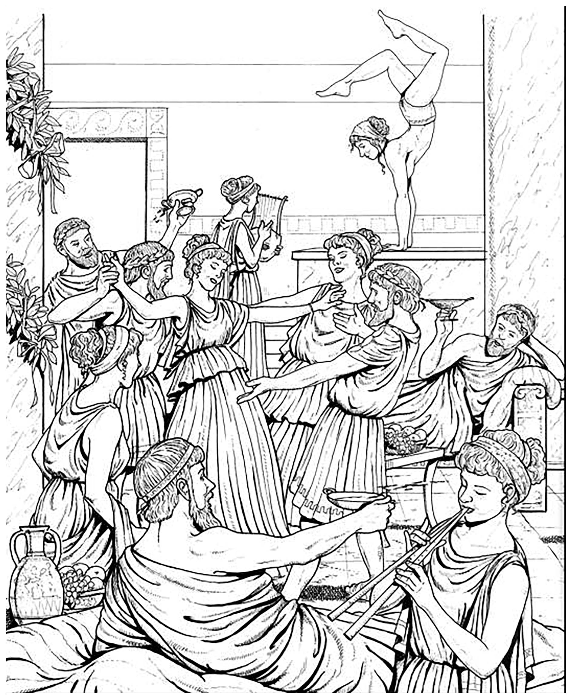 greek art coloring pages greek gods and goddesses coloring pages free coloring home greek coloring art pages