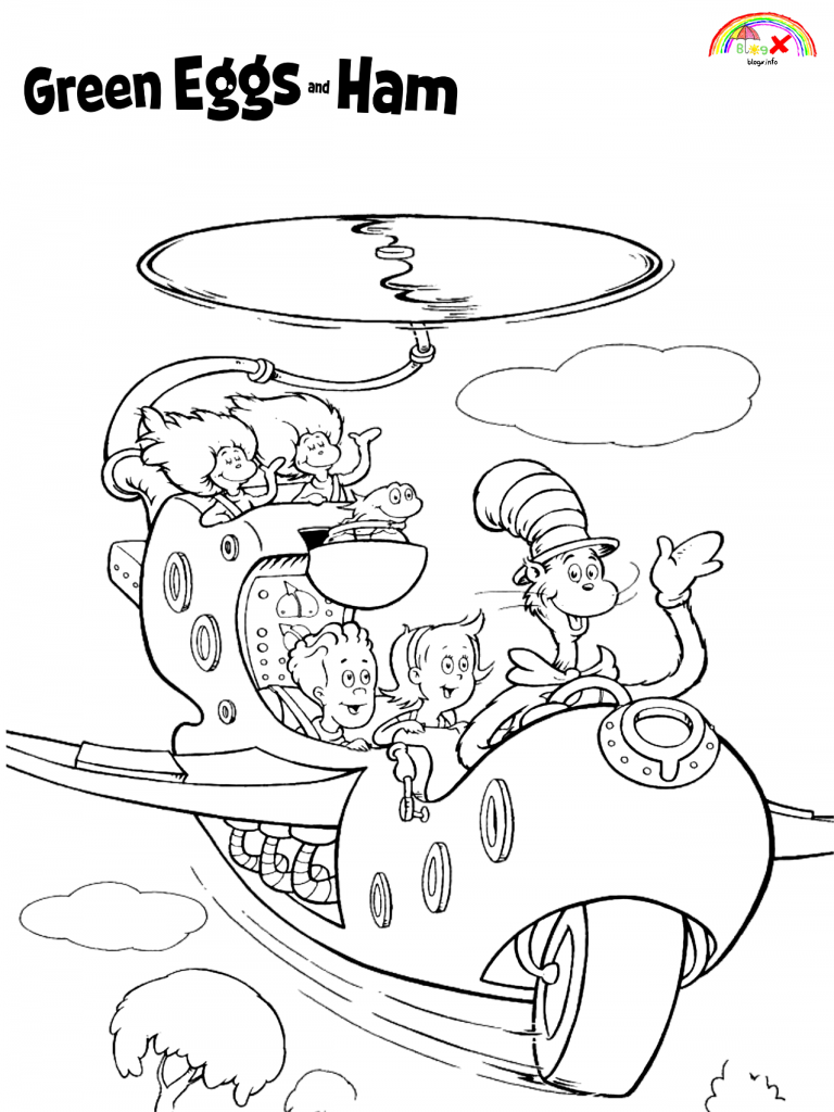 green eggs and ham coloring page free download to print green eggs and ham coloring page coloring eggs green and page ham
