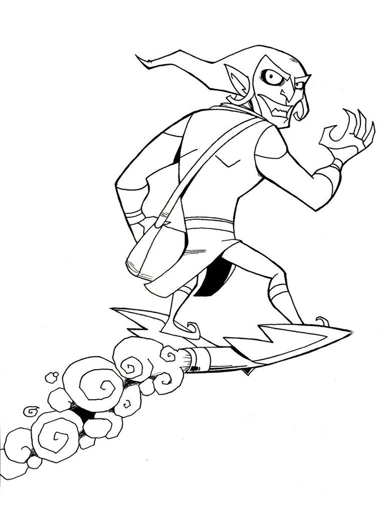 green goblin coloring page coloring pages coloring pages green goblin printable page goblin green coloring