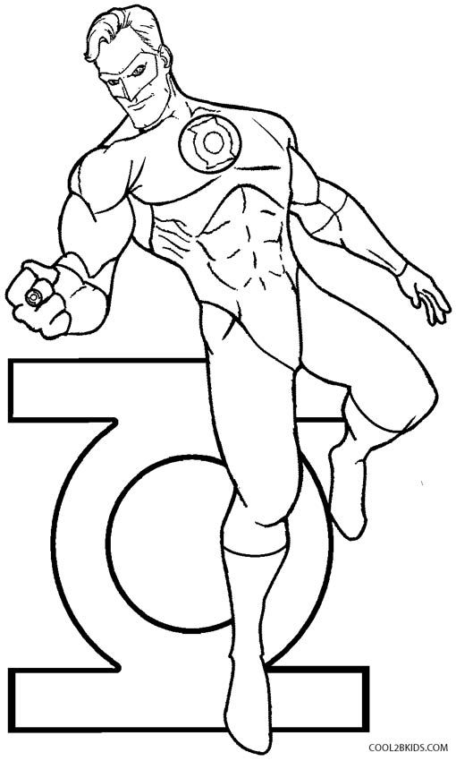 green lantern printable coloring pages green lantern coloring pages coloring pages to download pages coloring lantern green printable