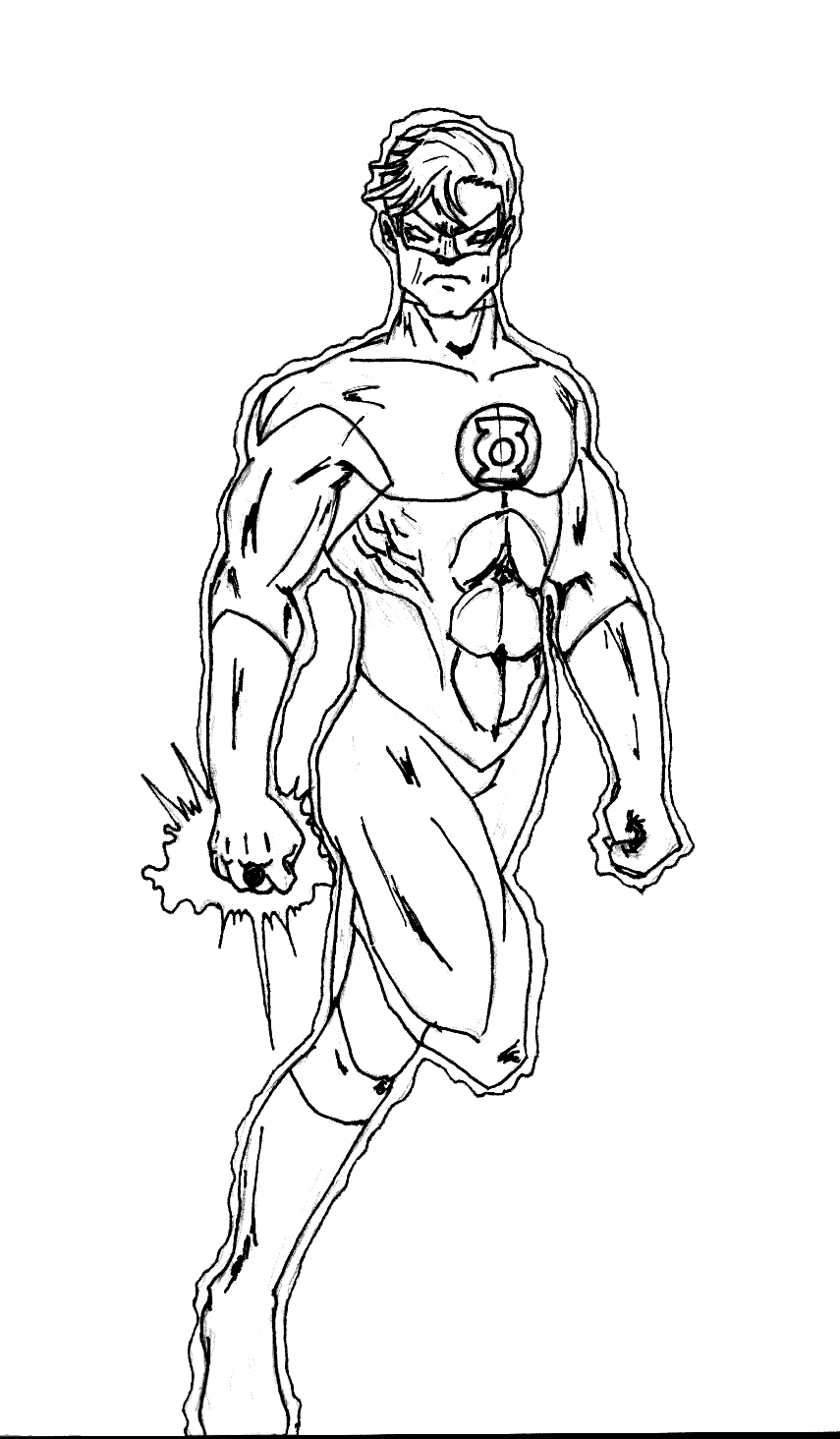 green lantern printable coloring pages green lantern coloring pages educative printable green lantern green pages coloring printable