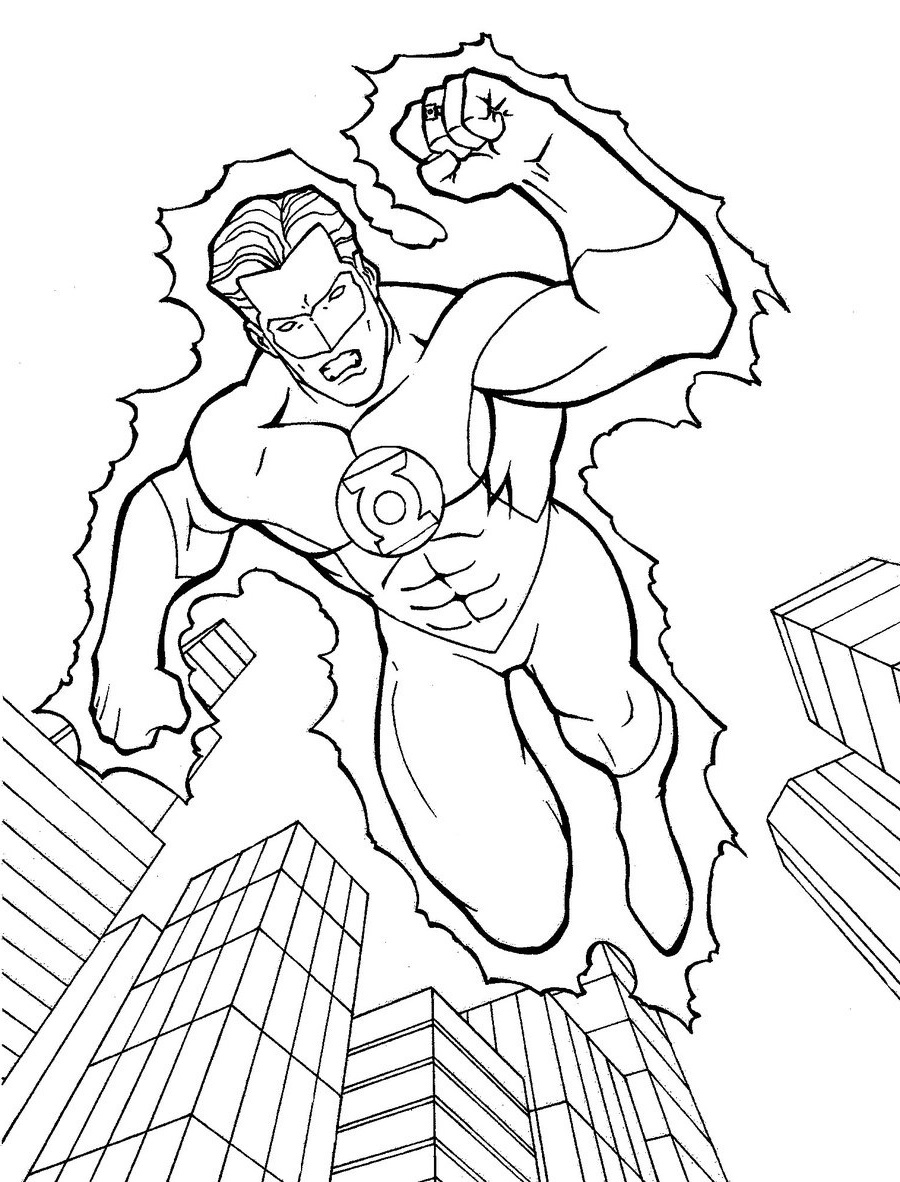 green lantern printable coloring pages green lantern coloring pages free printable coloring coloring green lantern pages printable